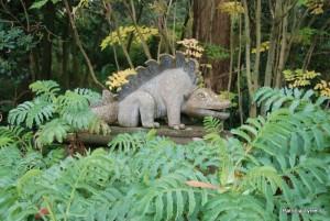 Lizard at Mount Stewart